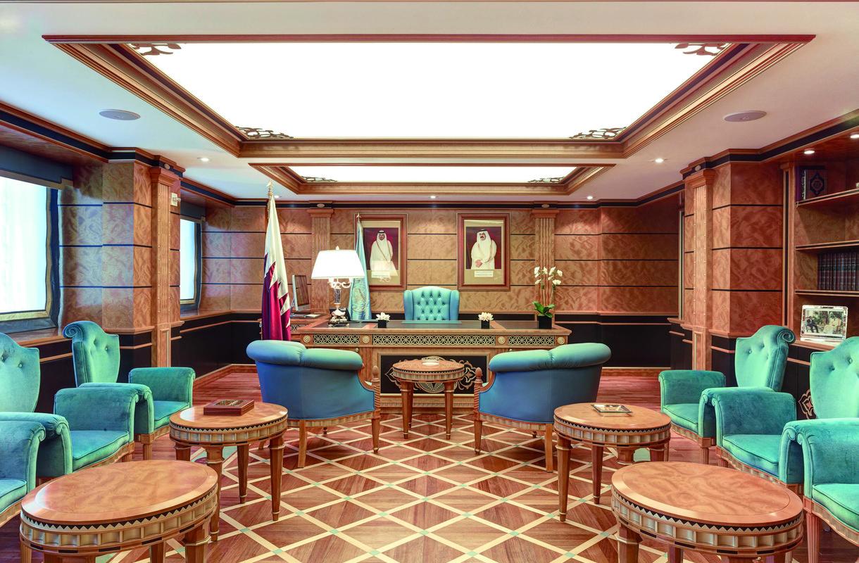 Qatar mission in new york design duemila for Design 2000
